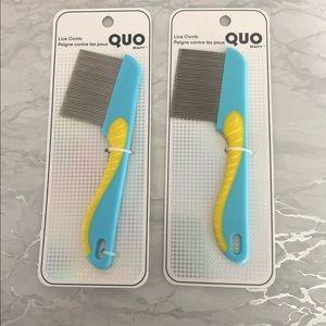 Quo Beauty Lice Comb (2) 🖤Host pick🖤